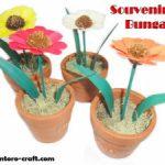 Souvenir Bunga Pot Aster
