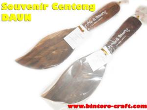 souvenir centong sonokeling