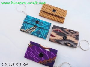 souvenir dompet batik mini kecil