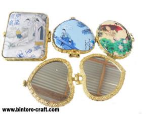 souvenir kaca korea unik lucu cantik