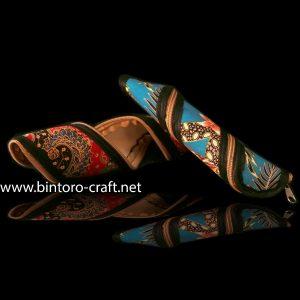 souvenir nikah dompet model batik