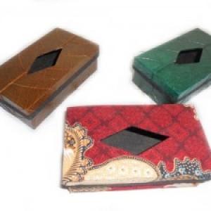 Souvenir Box Tissue Batik Kecil