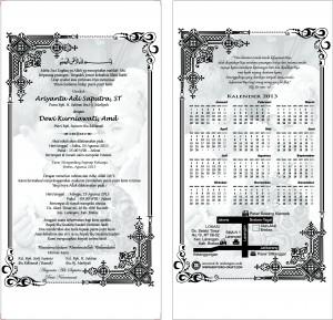 design undangan pernikahan unik
