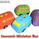 Souvenir Miniatur Bus