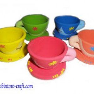 Souvenir Cangkir Clay