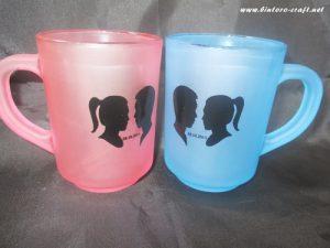 souvenir gelas frost warna