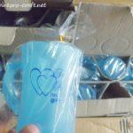 Souvenir Gelas Sexy Handle Warna