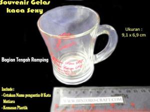souvenir gelas tangkai