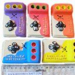 Souvenir Pensil Holder Kotak Warna