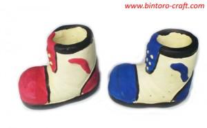 souvenir pernikahan bentuk sepatu