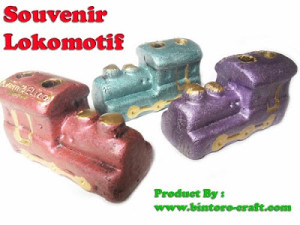 souvenir pernikahan lokomotif