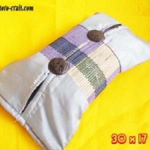 Souvenir Tempat Tissue Satin Tikar