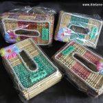 Souvenir Tempat Tissue Tikar / Mendong