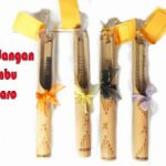 Undangan Bambu Gulung Separo
