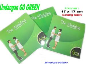 undangan konsep go green
