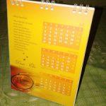 Undangan Kalender Spiral