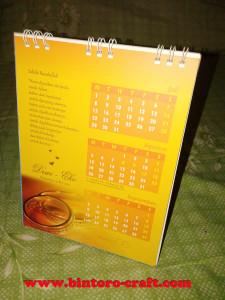 undangan pernikahan kalender murah di jogjakarta