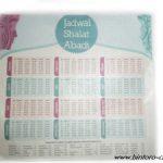 Undangan Jadwal Sholat