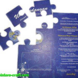 Undangan Bentuk Puzzle