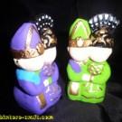 Souvenir Pasangan Batak-Dayak
