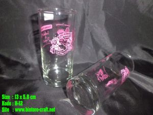 souvenir gelas palangkaraya