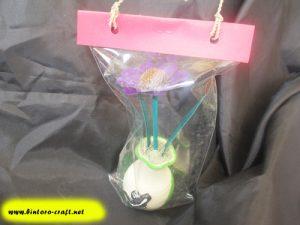 contoh souvenir bunga