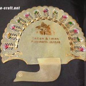 Souvenir Kipas Kulit Elegan