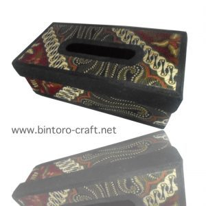 Souvenir Box Tisu Batik Besar