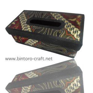 souvenir box tisu batik