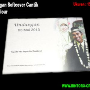 Undangan Softcover Tipe D